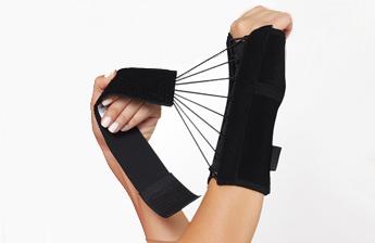 Бандаж на запястье со шнуровкой с фиксацией большого пальца Aurafix 610