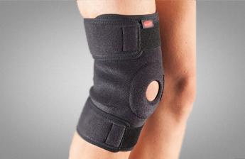 Наколінник Aurafix 3101 з відкритою колінної чашечкою