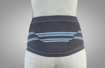 Попереково-крижовий корсет Aurafix AO-87 з силіконовою подушкою